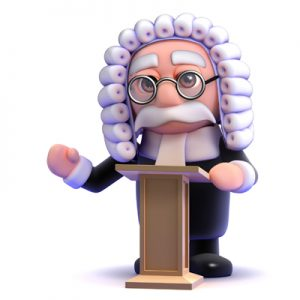 What to expect of the court judge at trial